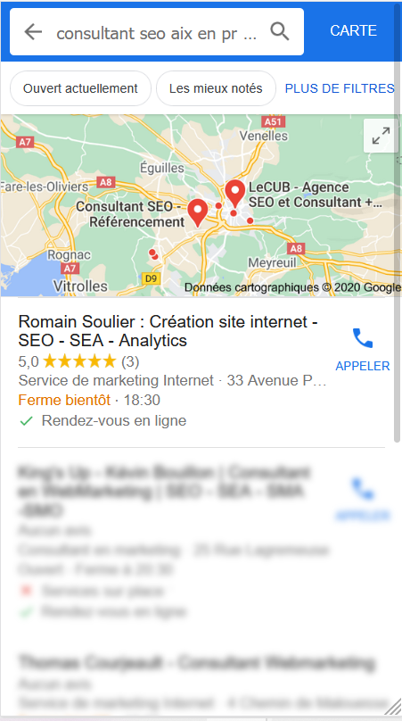 CONSULTANT SEO LOCAL MOBILE