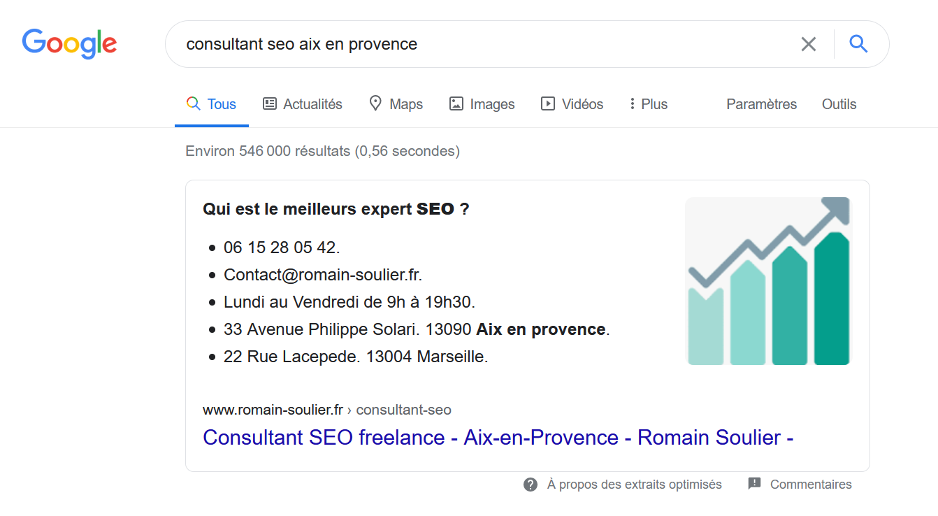 referencement local google